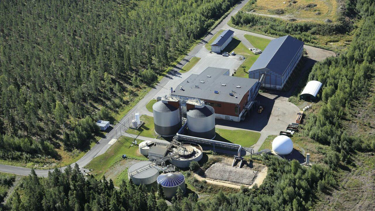 Etappi-jäteaseman ilmakuva