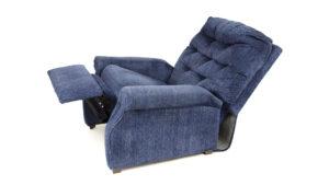 Sininen nojatuoli.
